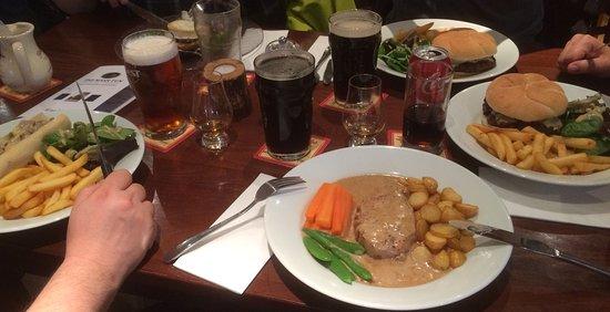 Aberlour, UK: leckere Speisen