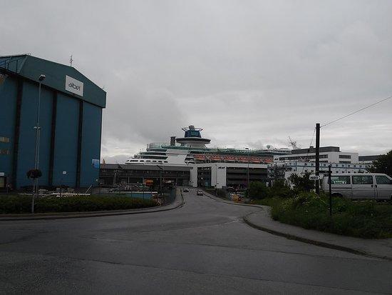 Haugesund, Noruega: Kreutzfahrtterminal