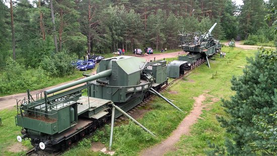 Krasnaya Gorka, Rosja: Пушки