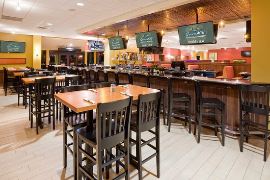 Green Mill Restaurant and Bar is attached to the Best Western Plus in Shoreview, MN.