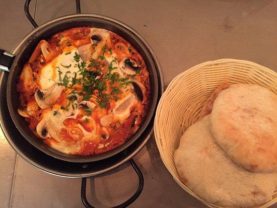 champignons oven