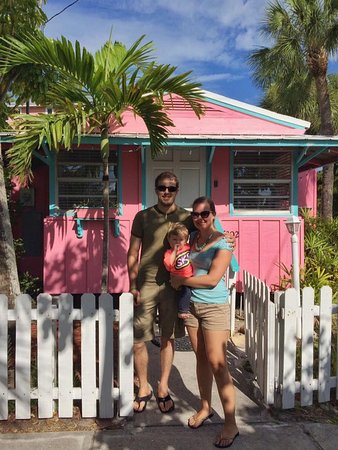 Beach Palms: The Pink Cottage was great!