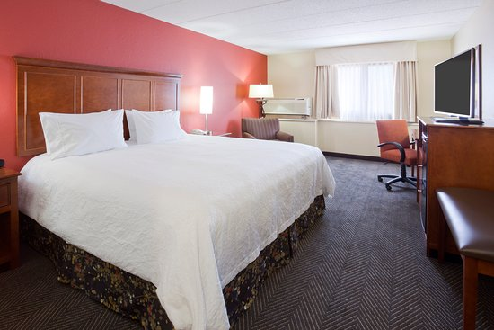The Best Western Plus Hotel in Shoreview, MN has an outdoor courtyard, indoor pool, and free bre