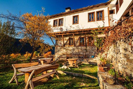 Kovachevitsa, Bulgaria: The back yard