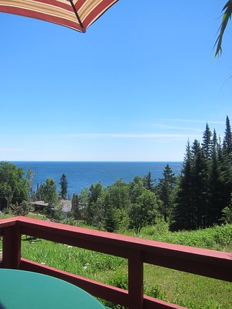 Beaver Bay, MN: View from the back deck