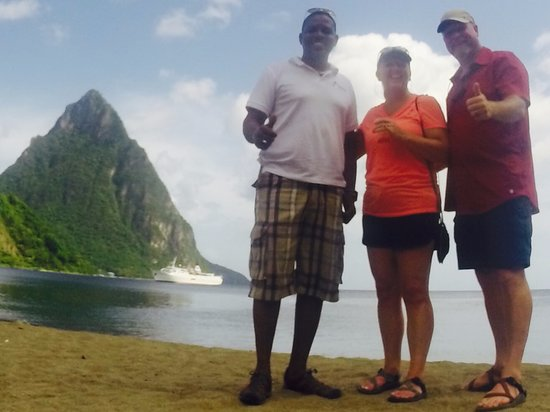 Gros Islet, St. Lucia: Kurt was a great tour guide!!!!