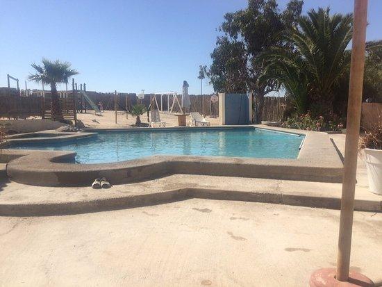 Linda piscina picture of apart hotel playa blancas for Piscinas lindas