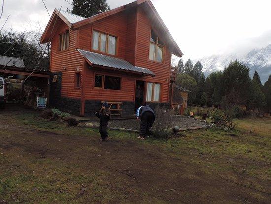 Cabanas El Refugio de Puelo: Vista desde la cabaña.