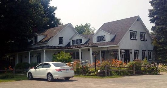 Hudson, Канада: Maison qui abrite le resto