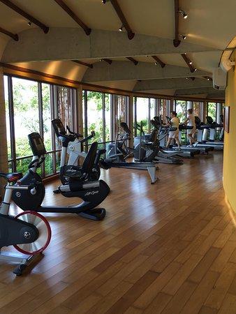 Laem Set, Thailand: gymnasium