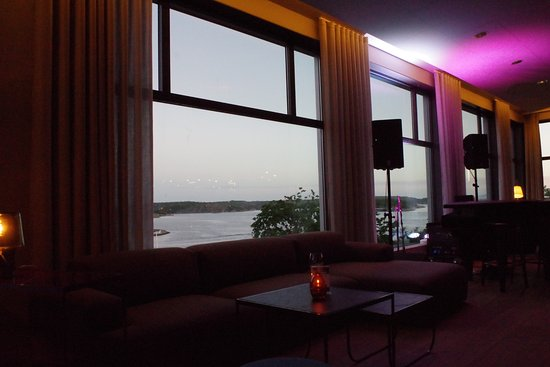 Stromstad, Suecia: Hotellets lounge