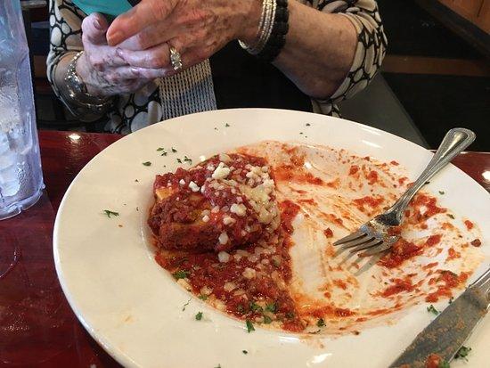 Alabaster, AL: What's left of the Lasagna.