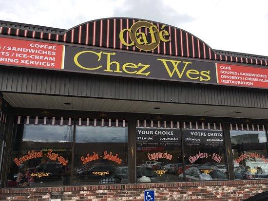Campbellton, Canadá: Cafe Chez Wes Restaurant