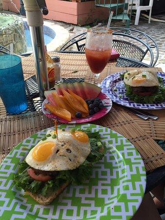 Cafe Fresco : Chivito...Yummy
