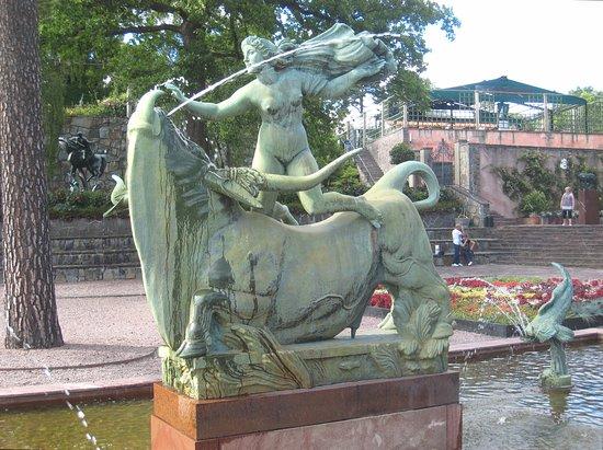 Millesgarden: Europa and the Bull