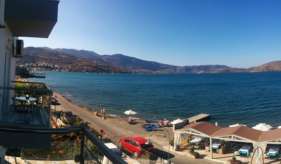 Akti Olous Hotel: The view from room 201.