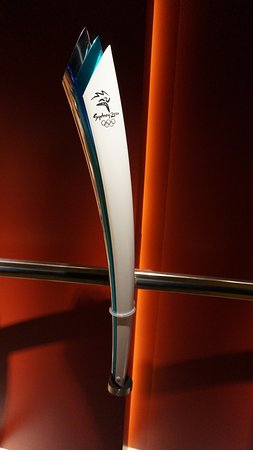 Olympic Museum Lausanne (Musee Olympique): Olimpic torch collection