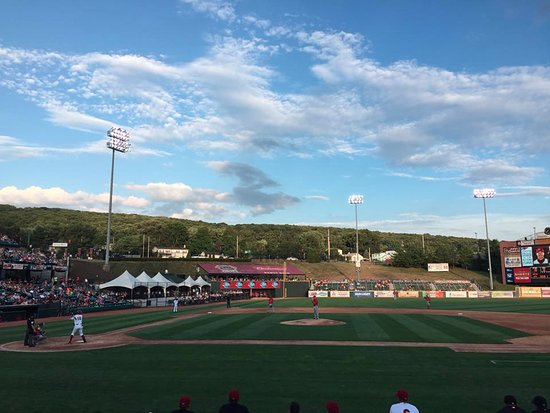 Altoona, PA: View from our seats.
