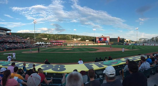 Altoona, PA: Panoramic shot of a beautiful evening.