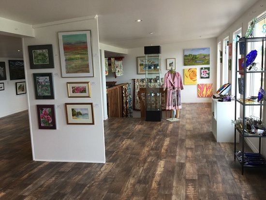 Montague, Canada: Upstairs art gallery