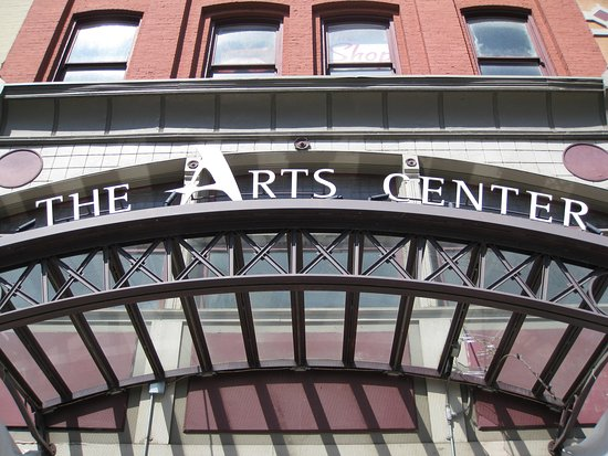 Troy, NY: The Arts Center of the Capital Region Building
