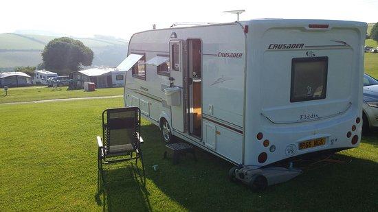 Higher Rew Caravan and Camping Park: 20160720_080701_large.jpg