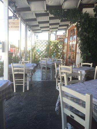 Portobello Grill Restaurant: charmante terrasse!