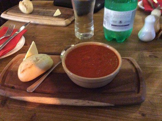 Sennybridge, UK: A rich and flavorsome Tomato Soup