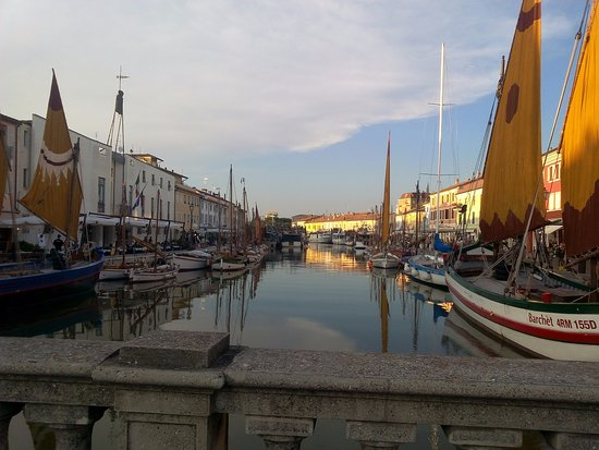 Cesenatico, Italia: Porto canale