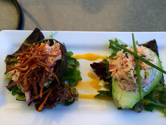 Mashpee, MA: Red Crab Stuffed Avocado