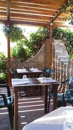 Tavoli nel terrazzo - Picture of Agriturismo Trinacria di Cammarata ...