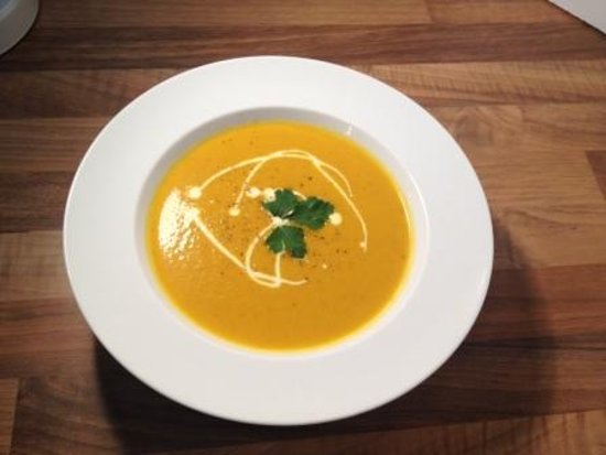 Halstead, UK: Homemade Carrot and Cumin Soup