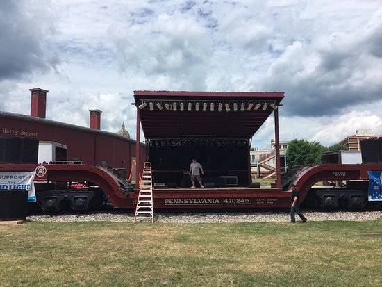 Altoona, PA: The Stage Train was so cool!!