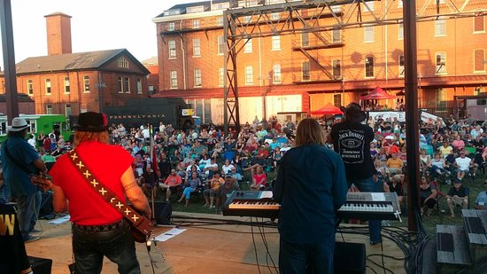 Altoona, PA: The crowd loved rocking out to MAD CO, at the Railroaders Memorial Museum Summer Concert Series!