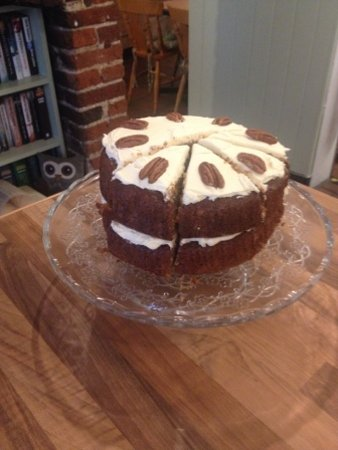 Halstead, UK: Parsnip and Maple Cake