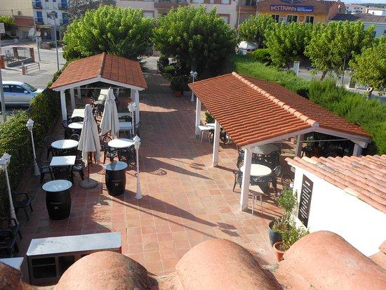 Vidreres, สเปน: Terraza