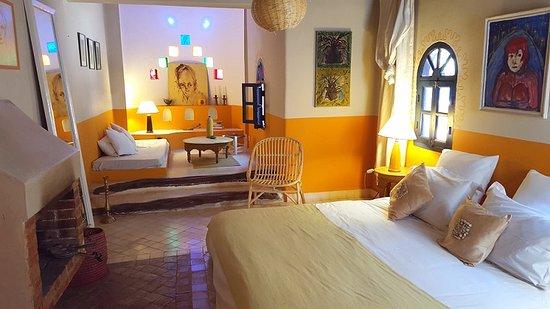Riad Baoussala / Chambre Oasis 1
