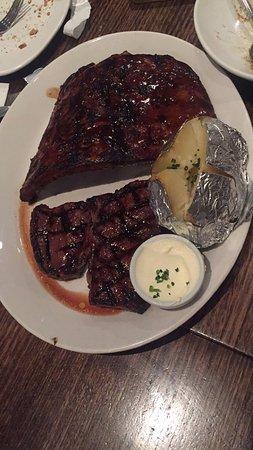 Bondi, Australia: ribs and steak