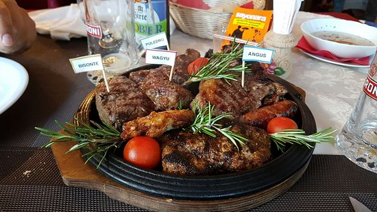 Al Sottobosco Steak house Churrascaria: Maxi Grigliata