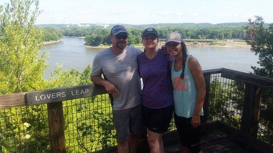 Starved Rock State Park: Lovers Leap