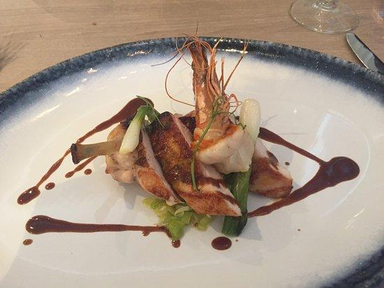 Brighton and Hove, UK: A course from the mini gastro menu