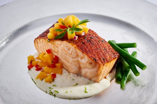 West Chester, OH: Bourbon Maple Salmon