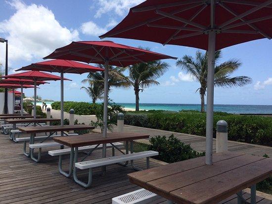 Christ Church, Barbados: Rockley Beach vista do KFC