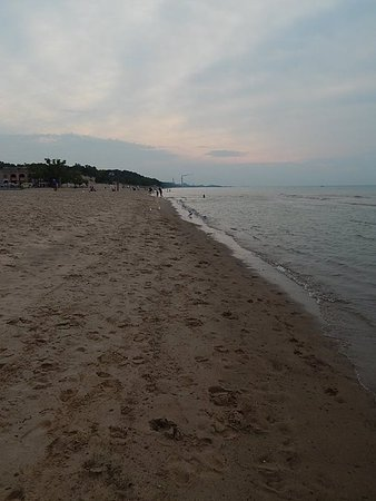 Chesterton, Ιντιάνα: Beach sunset