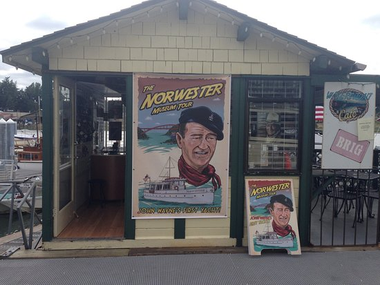 La Conner, WA: The Norwester souvenir shop. So many awesome goodies!