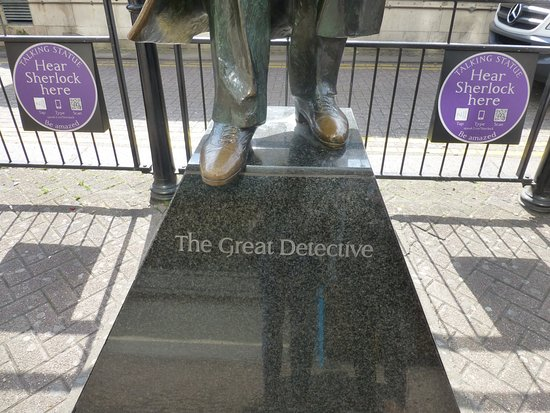 Sherlock Holmes Museum Statur The Great Detective