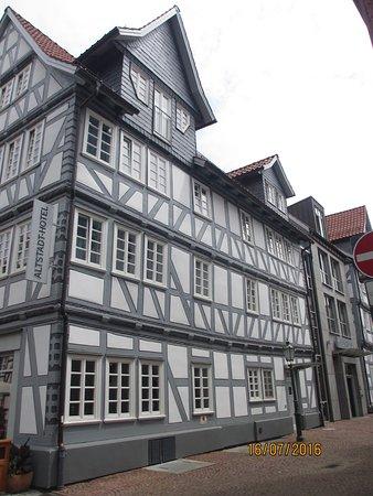 Melsungen, Almanya: Side view of Hotel Centrinium