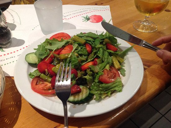 Lust auf Italien: Appealing and delicious salad.