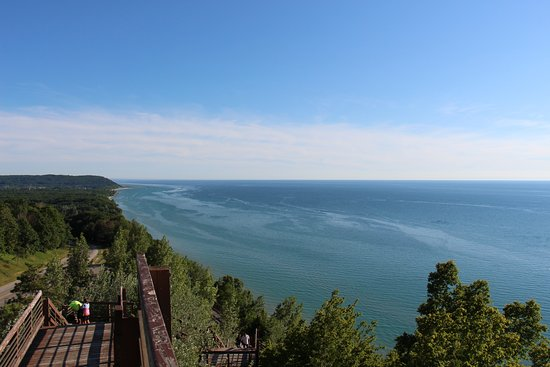 Arcadia, Μίσιγκαν: Observe the multi-colored waters of Lake Michigan