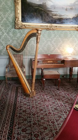 Maybole, UK: music room